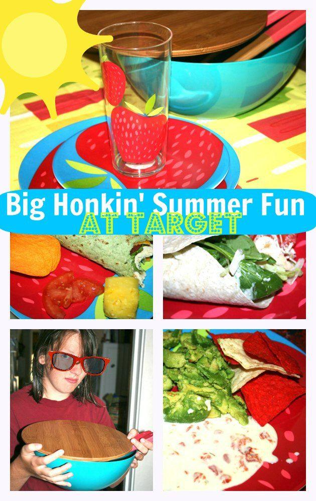 Big Honkin' Summer Fun and Entertaining Essentials at Target
