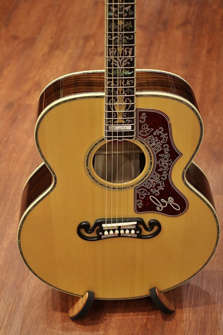 Gibson Sj 200 Acoustic Guitar Gorgeous Guitarsdrool
