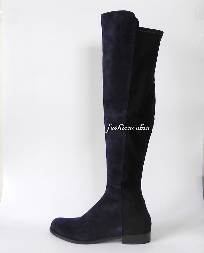 726ae4afb6f NEW Stuart Weitzman 5050 Suede Over the Knee Boot Shoe