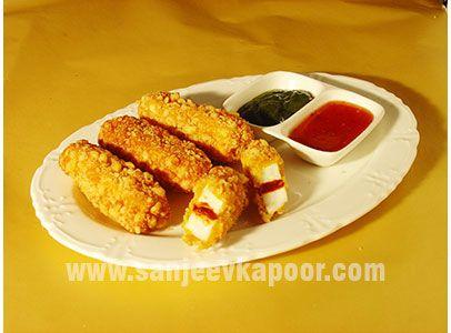 Crunchy paneer pakora recipes pinterest mkit crunchy paneer pakora forumfinder Choice Image