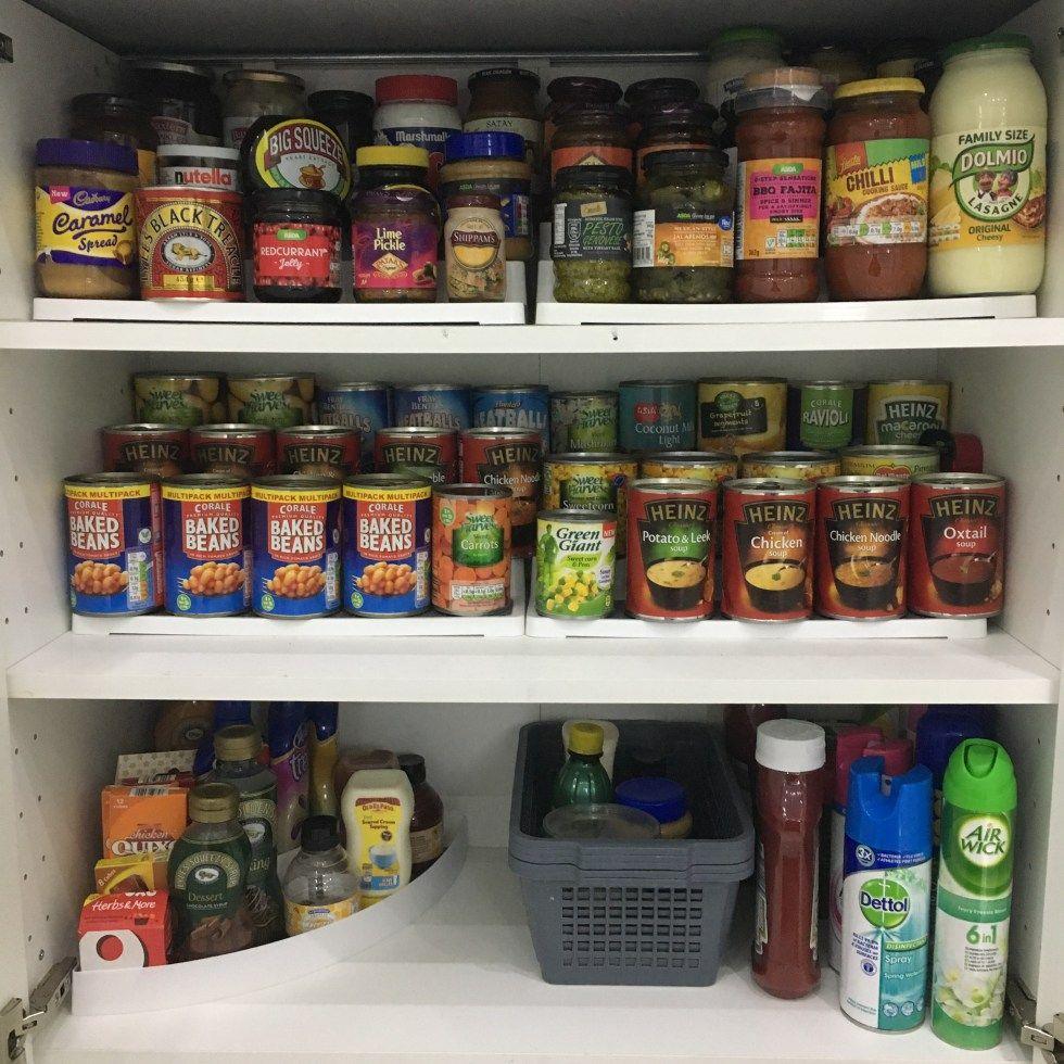 Kitchen Organisation Tin Storage Pantry Organisation Kitchen Cupboard Organization Kitchen Organisation Cupboards Organization