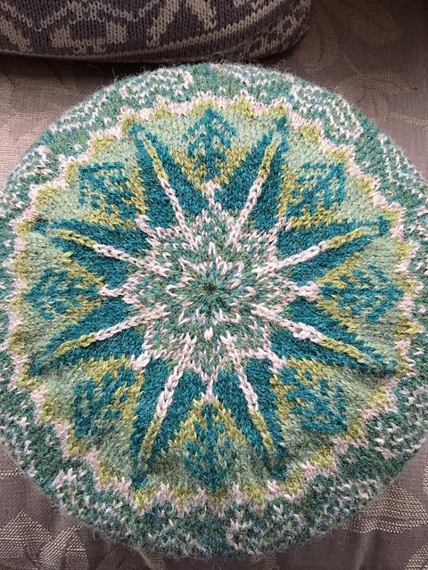 Ravelry: Project Gallery for Winter Forest Tam pattern by Ruskin\'s ...