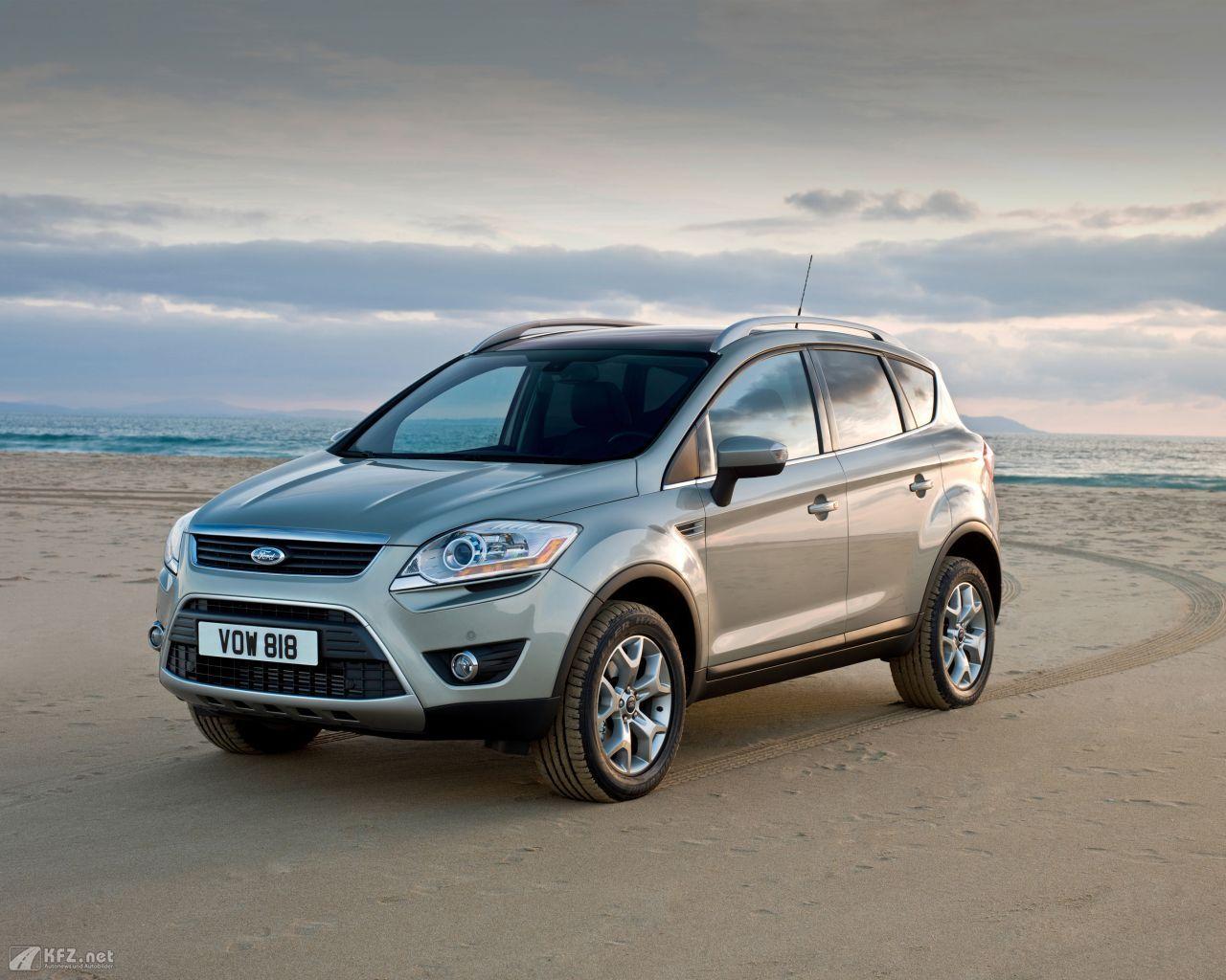 Ford kuga bilder ein 4x4 crossover gel ndewagen