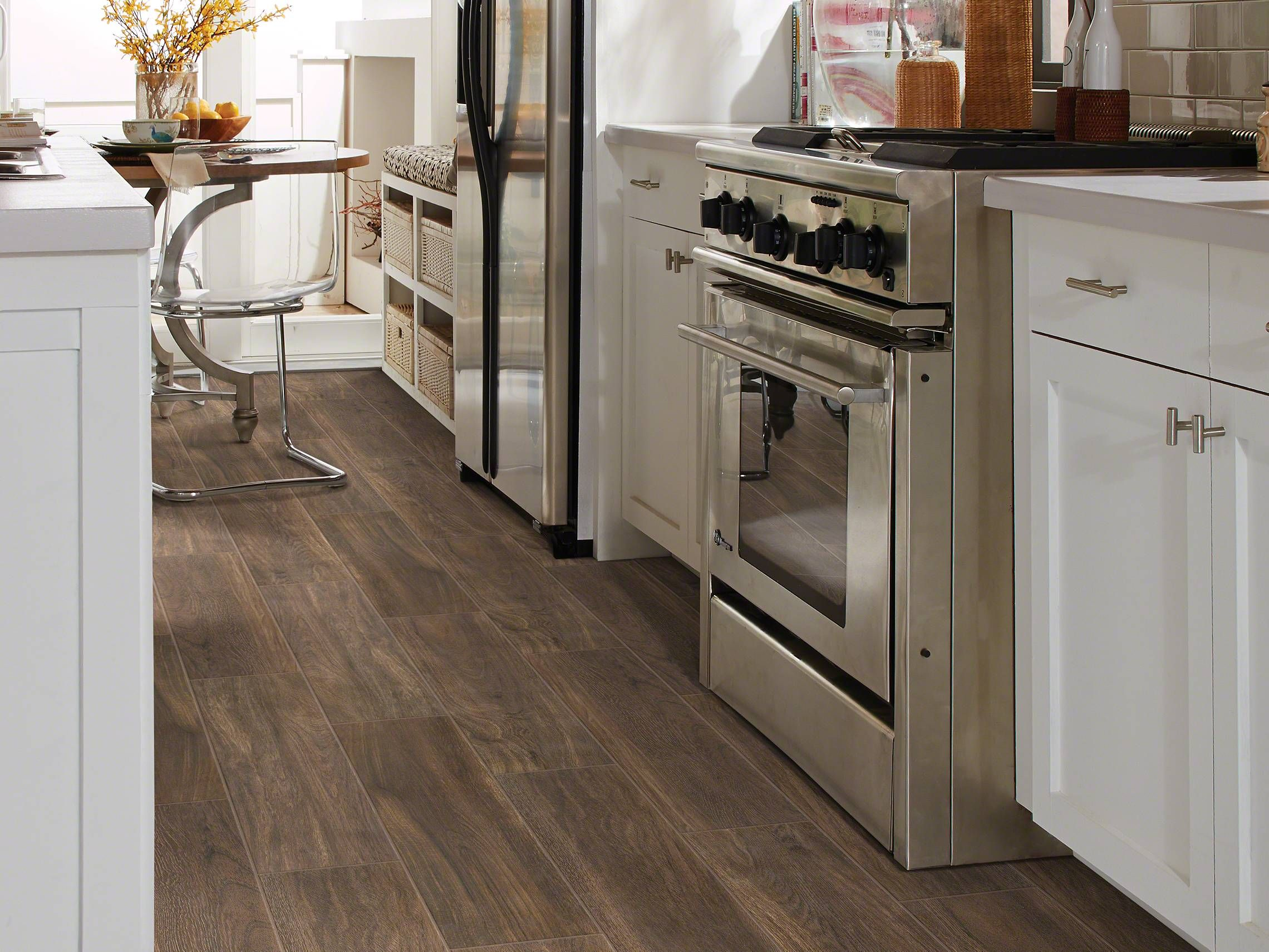 VALENTINO 8X32 Room View Tile Flooring from SHAW