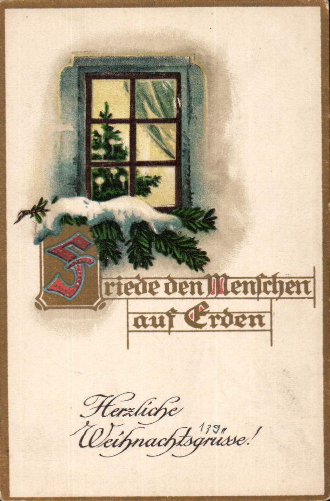 10826 Weihnachten 1917 - Friede den Menschen auf Erden