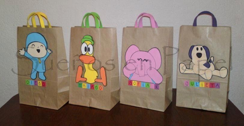 f8d6681da Resultado de imagen para bolsitas de cumpleaños | Bolsas y cajas ...