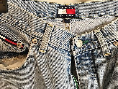 Vintage 90s TOMMY HILFIGER Womens Jeans Denim High Waist Straight Leg Logo Sz 9