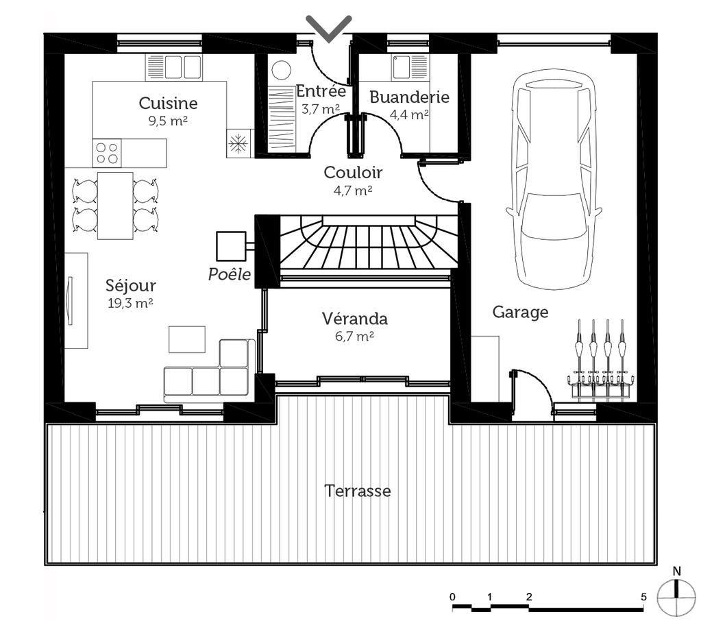 Awesome Plan Maison En U Avec Piscine Au Milieu That You Must Know