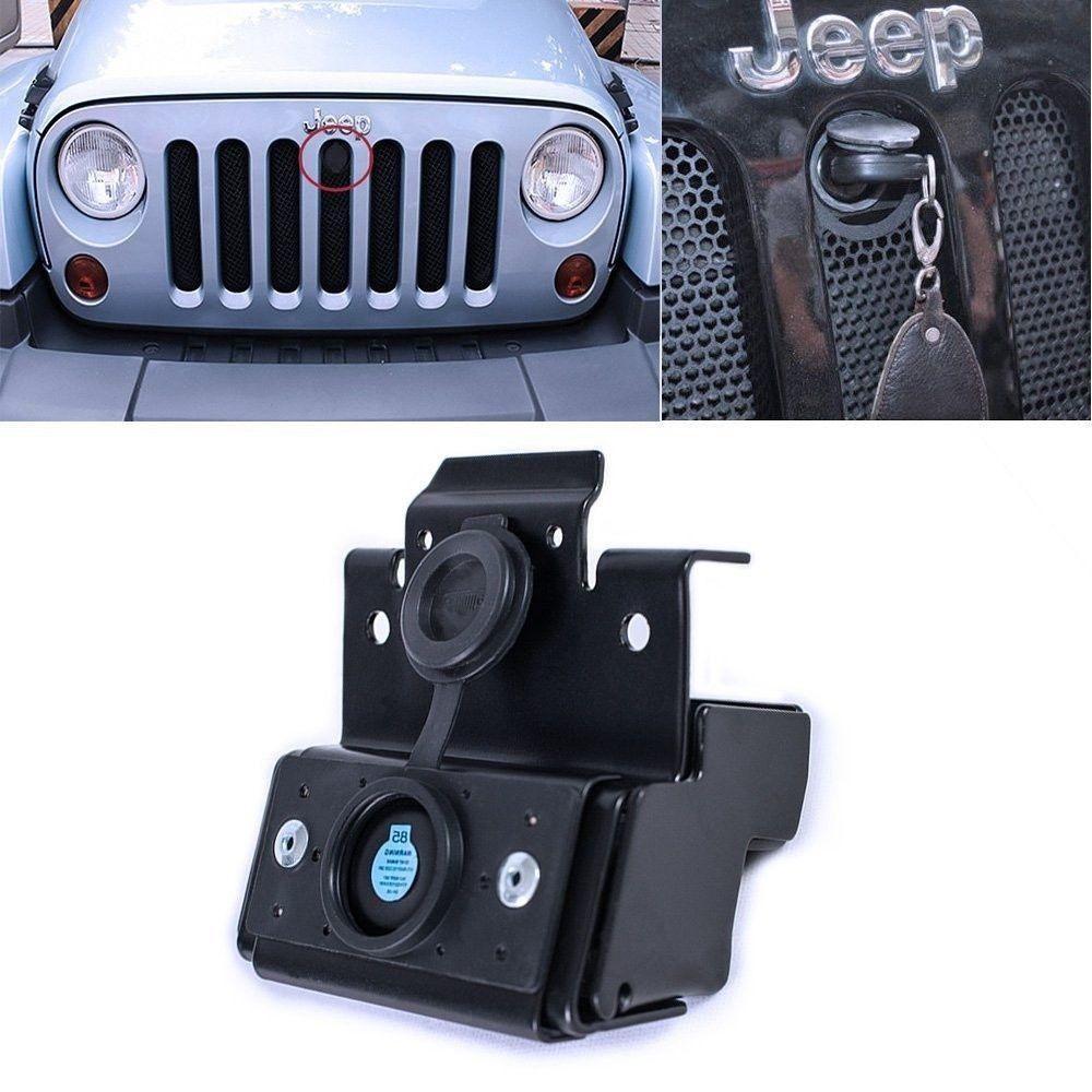 Ignition Key Hood Lock Kit For Jeep Wrangler Jk 2007 2015 82213051