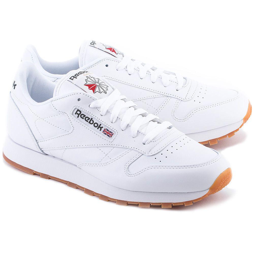 Cl Lthr Biale Skorzane Sportowe Meskie 49799 Sneakers White Sneaker Men S Shoes