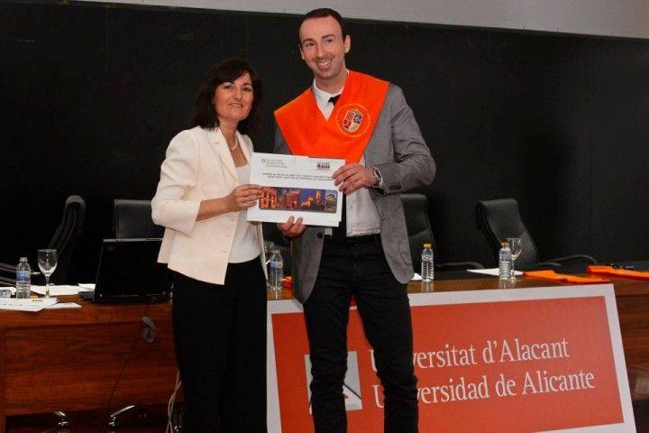Óscar Ondoño, mejor alumno del Experto Universitario en Dirección de Empresas de Hostelería