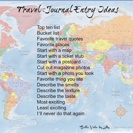 How To Start A Travel Inspiration Journal Journal Entries Travel