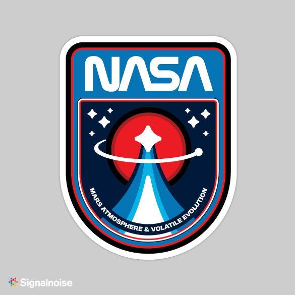Retro NASA Mission Patches