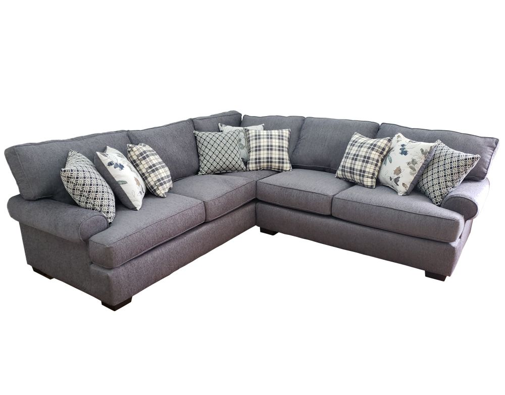 Corinthian Griffin Denim 5922rf 5923lc Sectional Sofa Savvy Discount Furniture Sectional Sofa With Chaise Extra Large Sectional Sofa Sofa Design