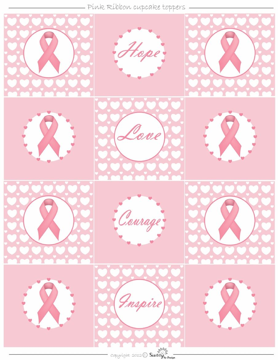 It is a graphic of Genius Printable Breast Cancer Ribbon