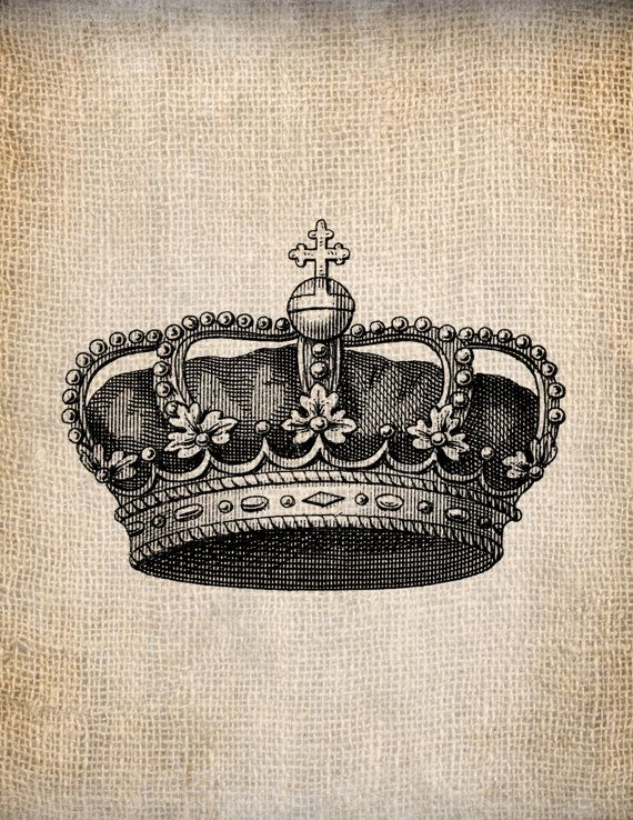 Antique Crown Royalty 7 King Queen Prince by ...