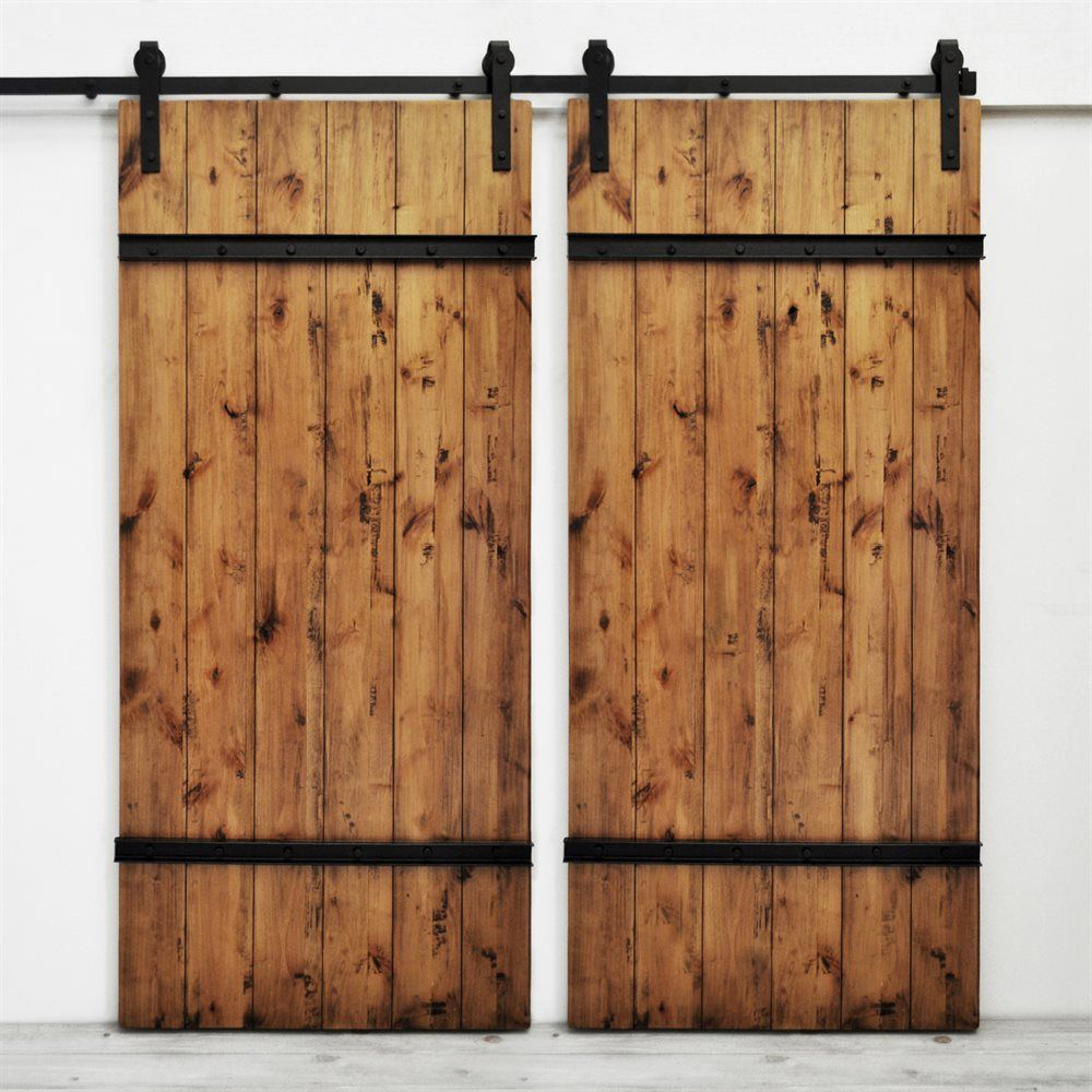 Shop Dogberry Collections D Draw 3682 Drawbridge Double Barn Doors At ATG  Stores.