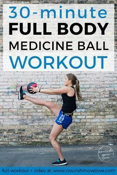 Medicine Ball HIIT Workout | 30 minute workout | HIIT workouts | HIIT workouts at home | medicine ba...