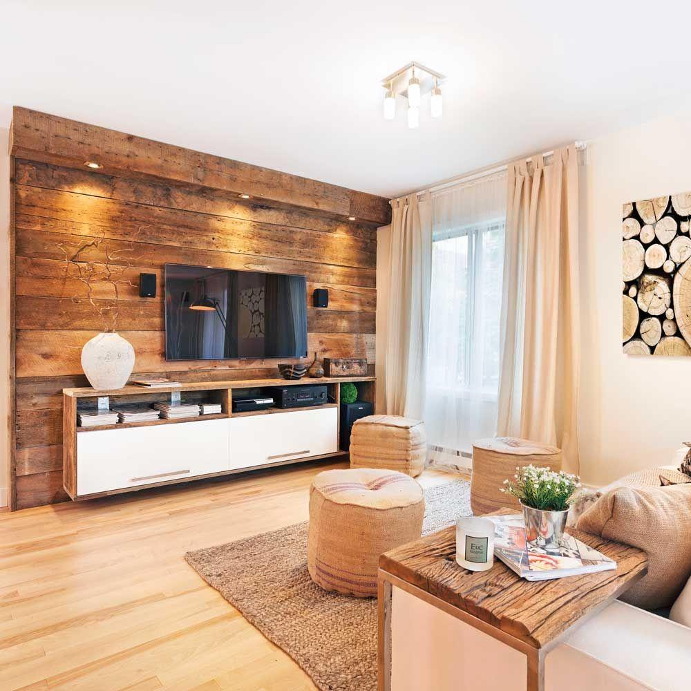 Les mat riaux bruts font un retour en force dans les d cors les plus tendance le bois de grange - Conseils de decoration de meubles de salon ...