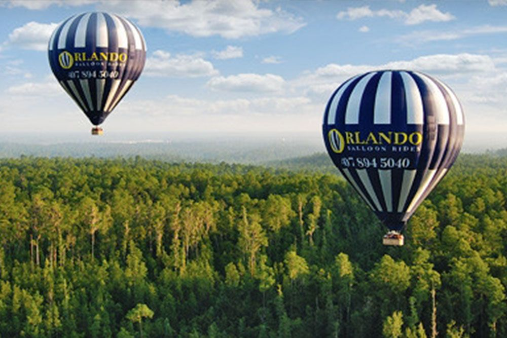 THINGS TO DO IN ORLANDO BESIDES THEME PARKS Hot air