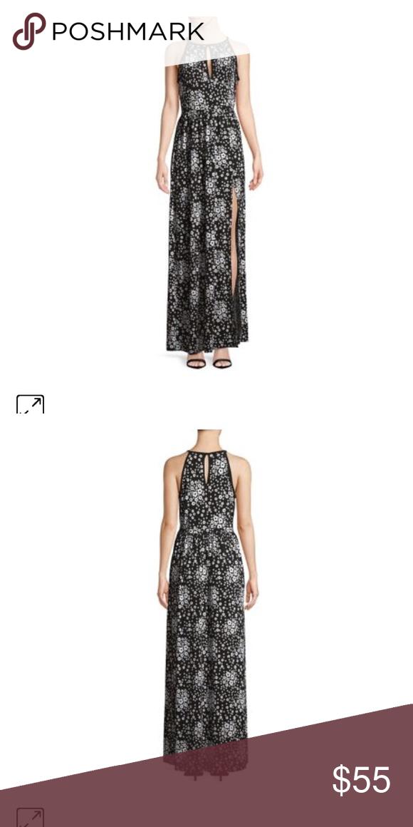 Michael Kors Black Tank Maxi Dress