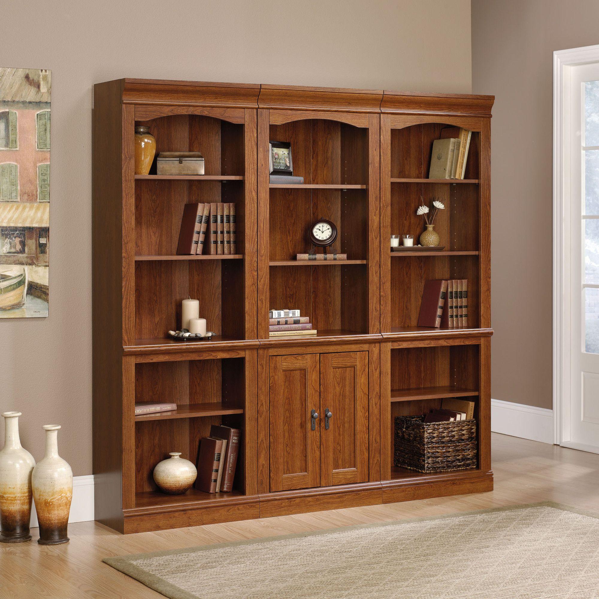 Sauder Camden County Library With Doors Wayfair