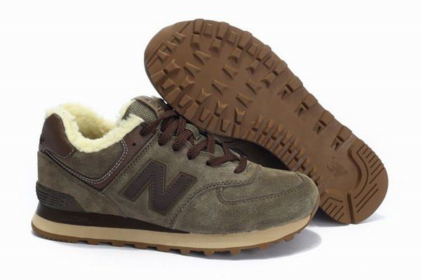 size 40 36352 14d75 Joes New Balance 574 WL574TA Winter Suede Wool Brown Eskimo ...