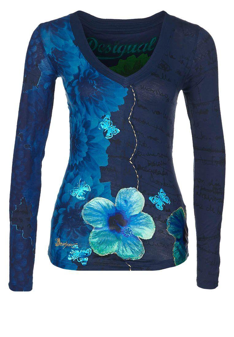 HENZEL - Pitkähihainen paita - sininen
