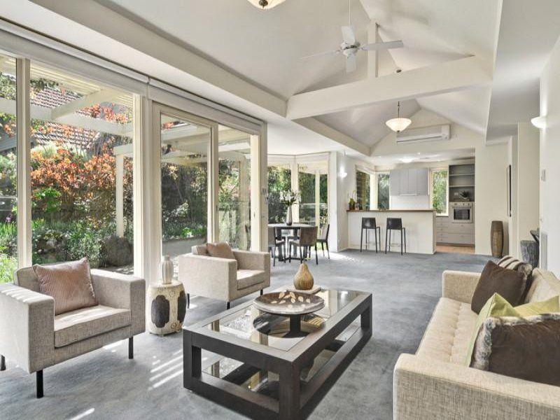 L Shaped Kitchen Living Room Designs