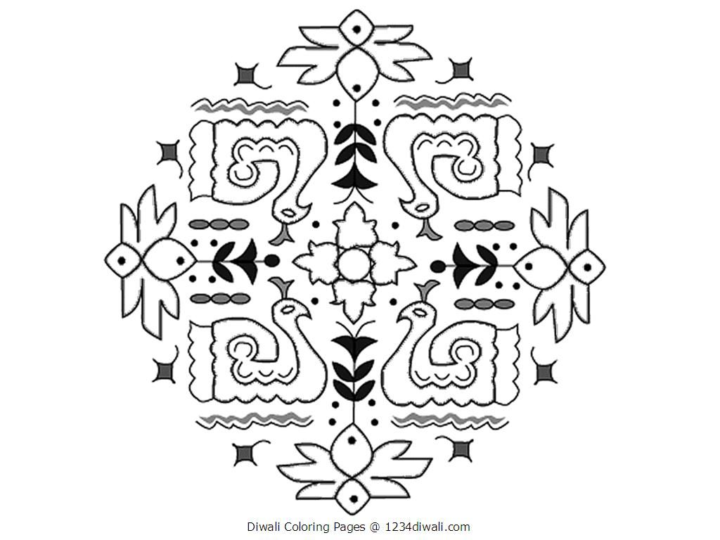 diwali coloring pages free online printable coloring pages, sheets ...