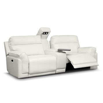 Living Room Furniture Voyager Ii 3 Pc Power Reclining Sofa With
