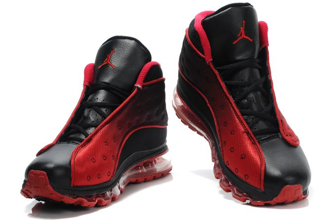 Air Jordan 13 Max Black Red Black   Shoes