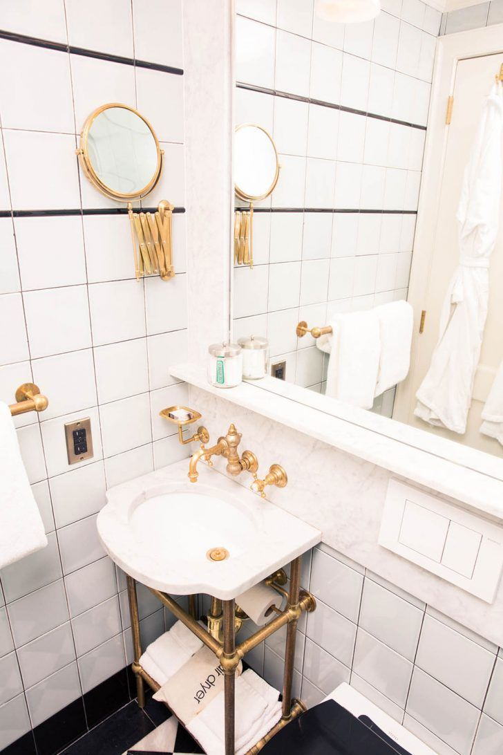 A case for the staycation gold bathroom marbles and bath a case for the staycation dailygadgetfo Choice Image