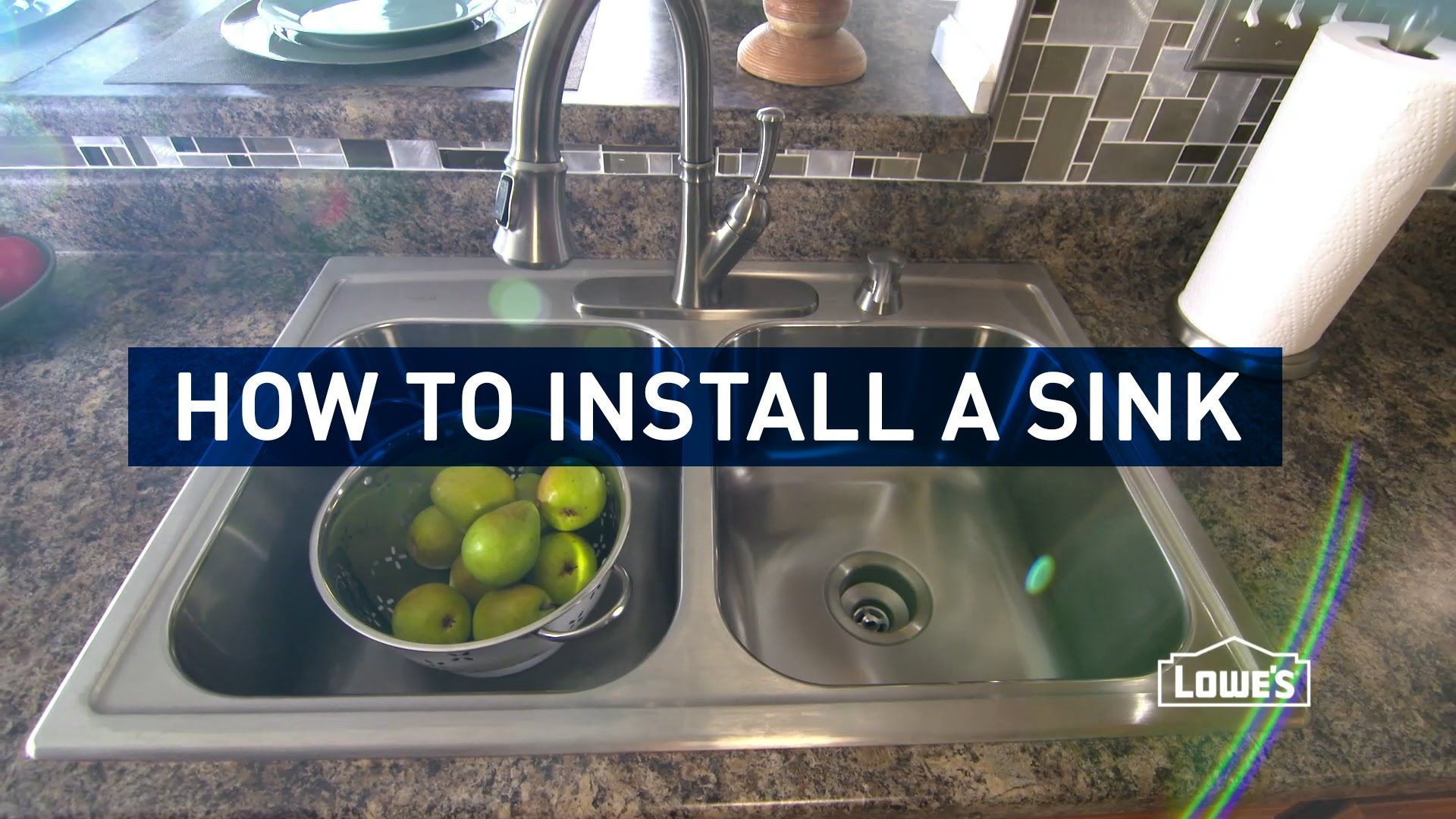 How To Install A Kitchen Sink Kitchen Sink Diy Replacing