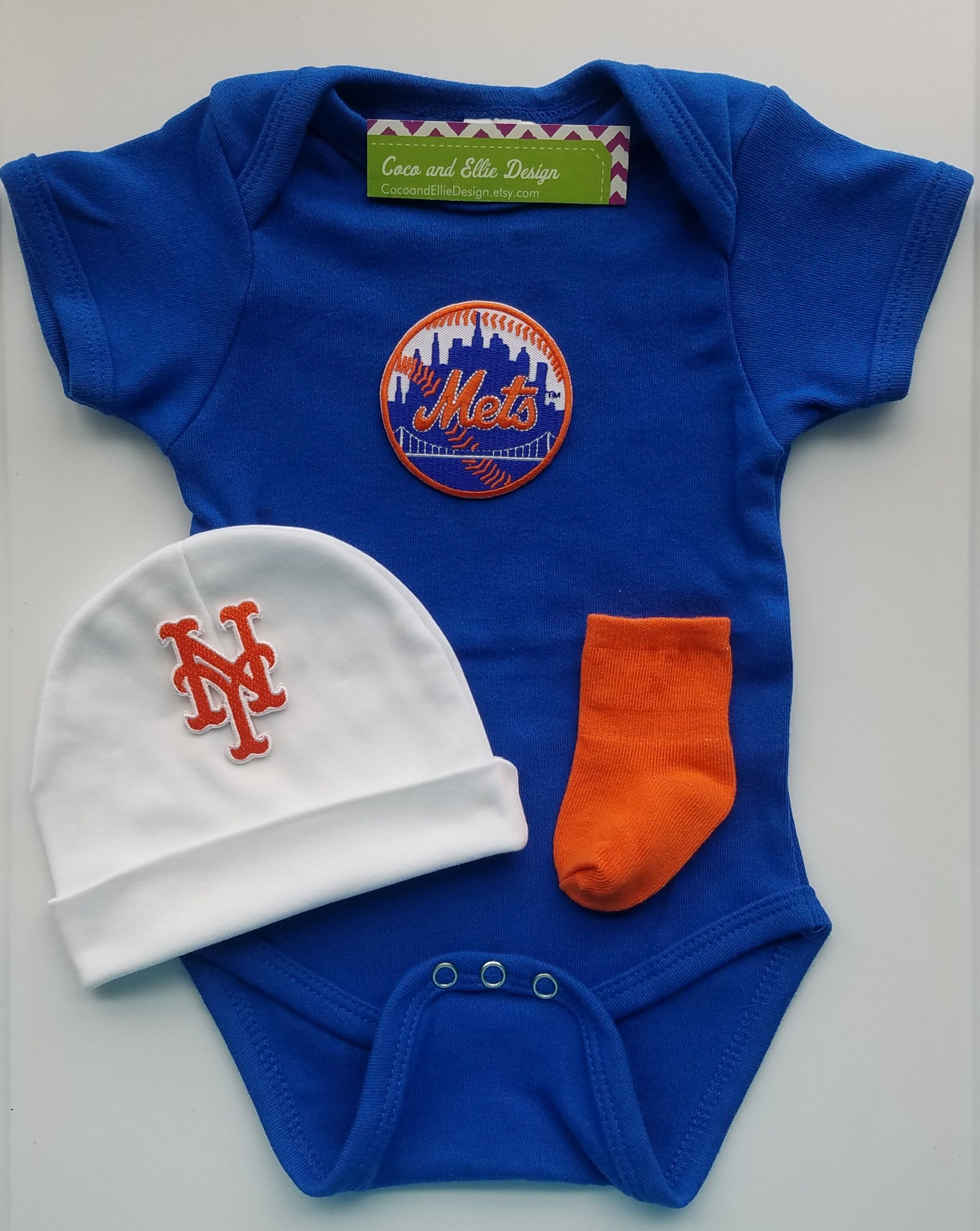 New York Mets baby boy outfit/ mets