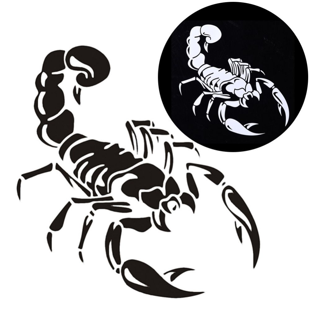Scorpion car window wall laptop vinyl decal sticker