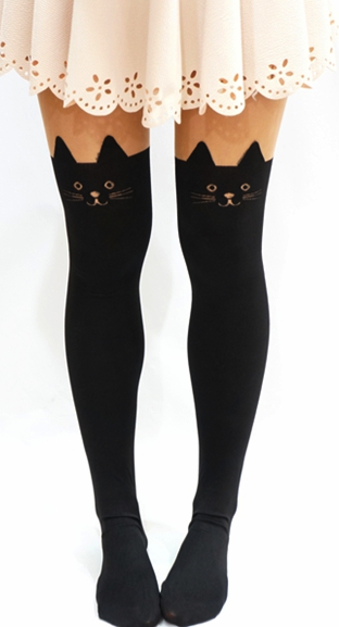 b0d5cf8d7 Kawaii Cat Tights/ Leggings | Winnie | Fashion tights, Fashion, Cat ...