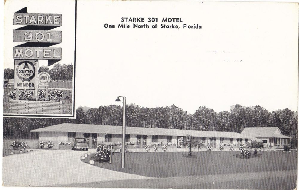 Camp Blanding Fl Starke Postcard Hospital Area Lake Kingsley 1940 S Lakes Camping And City