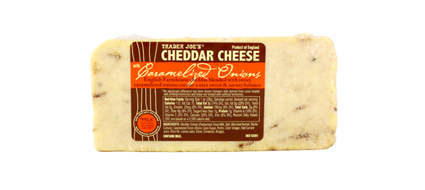 Best Cheese ever!!! Cheddar with Caramelized Onions | Trader
