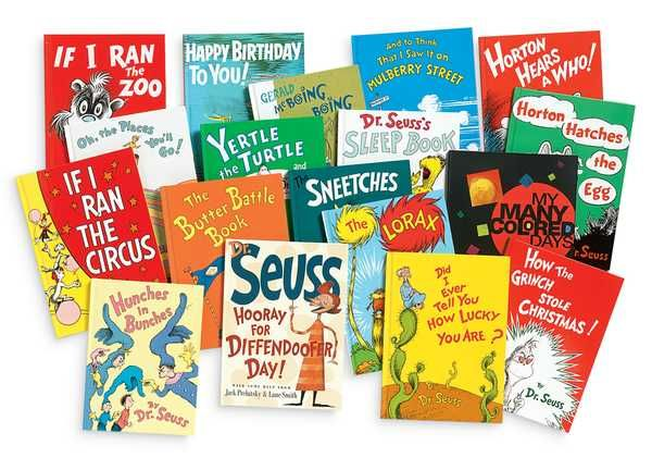 Dr. Seuss a reading staple for every household.