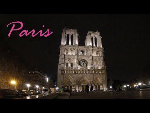 Turismo na França: Paris à noite!