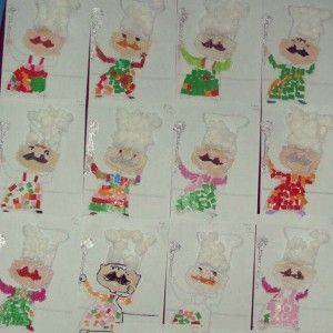 Chef Craft Idea For Kids 1 Community Helpers Crafts Pinterest