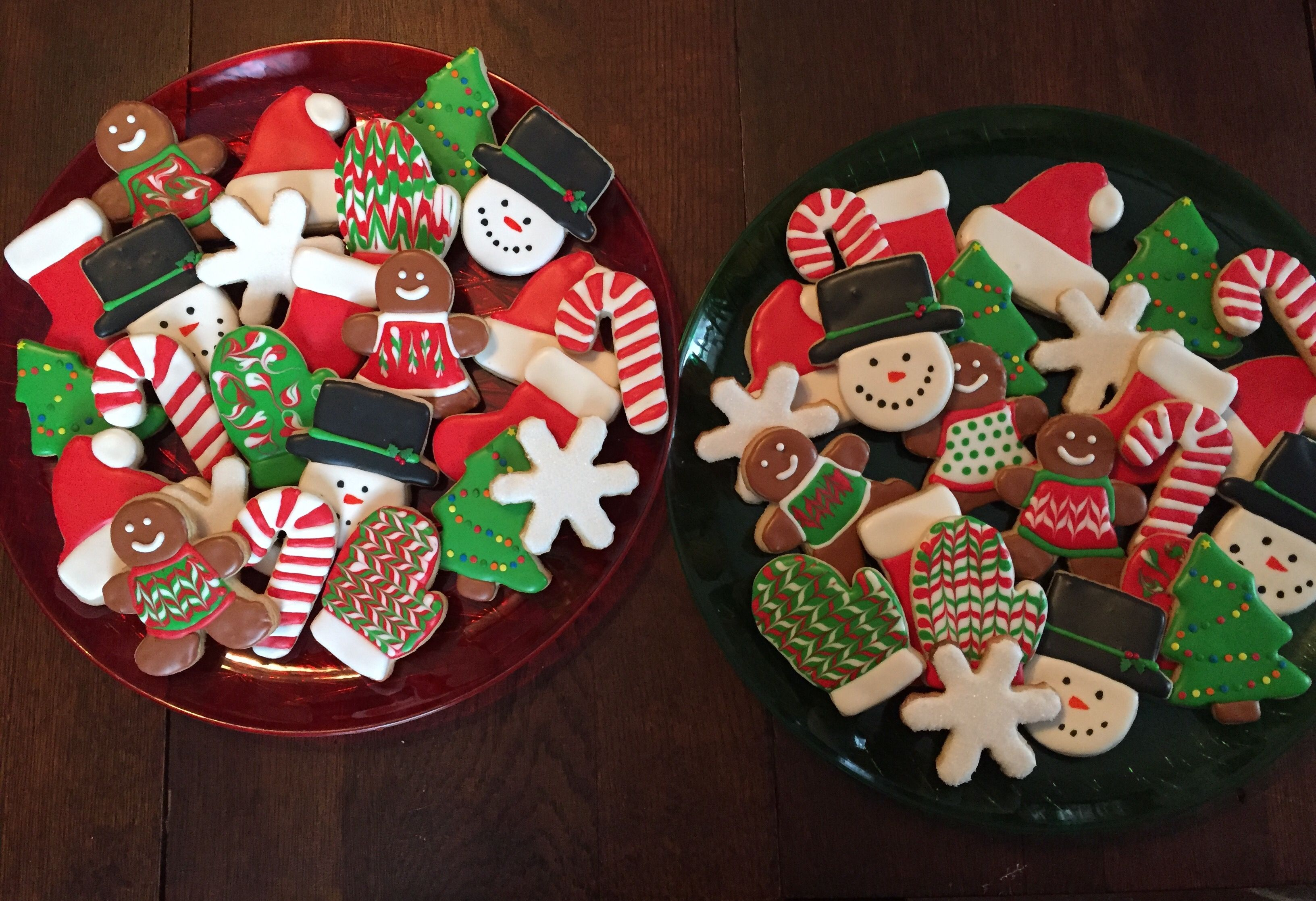 Christmas Cookie Platters Christmas Cookies Cookie Cake Cookies