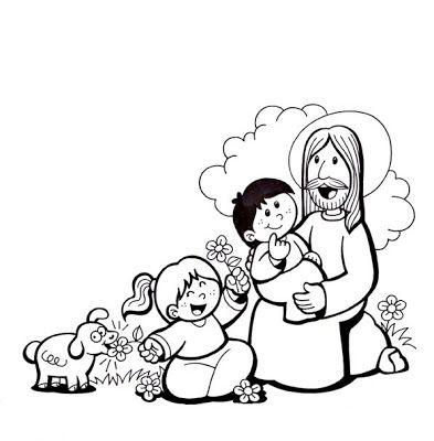 El Rincón de las Melli: Jesus y los niños | para clases de religión ...