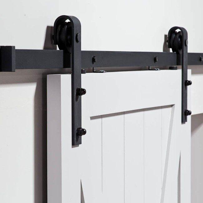 Zestaw Do Drzwi Przesuwnych Rea Prowadnice Systemy Przesuwne Sliding Wood Doors Sliding Door Systems Industrial Decor