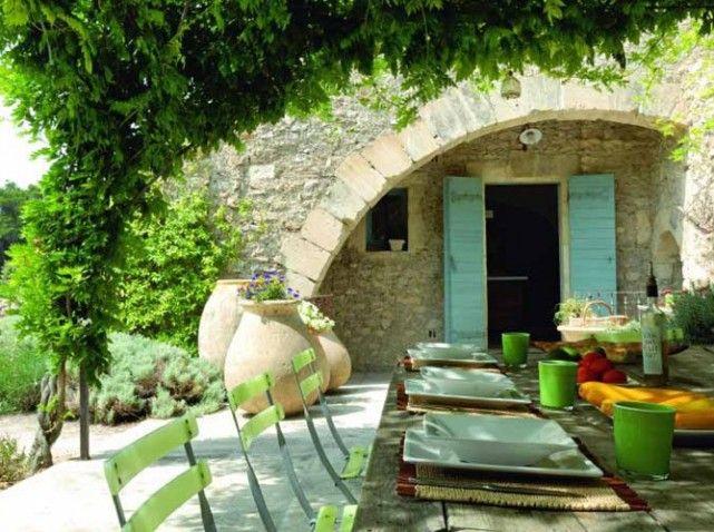 A L Ombre Des Terrasses Outdoors Dehors Jardins Terrasse Deco