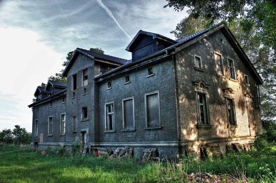 Unfinished mansion in Brandenburg Germany