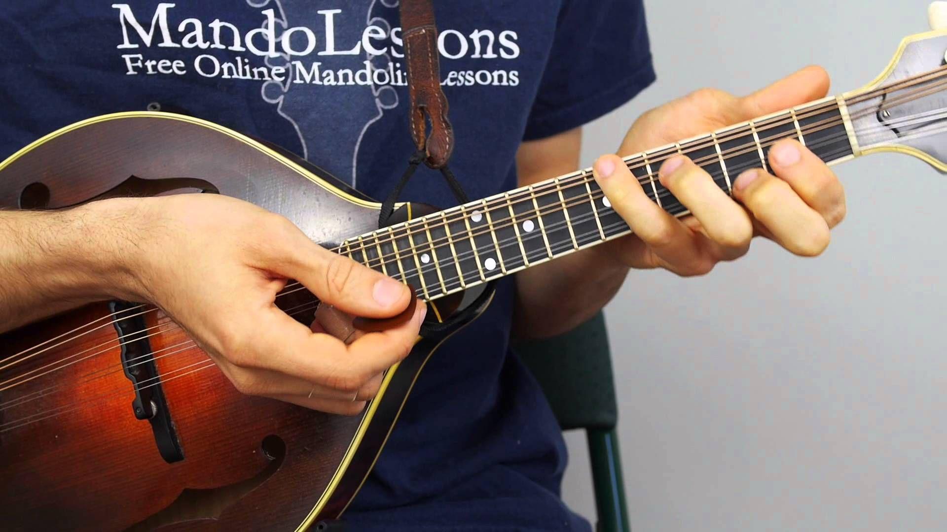 Bluegrass Mandolin Lesson Part 1 Man Of Constant Sorrow Chords