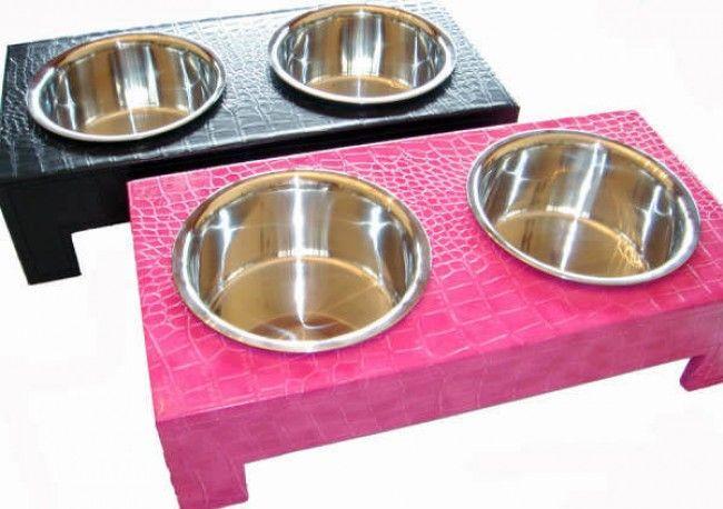 Crocodile Dining Bowls - Dog Accesories - Original Pooch