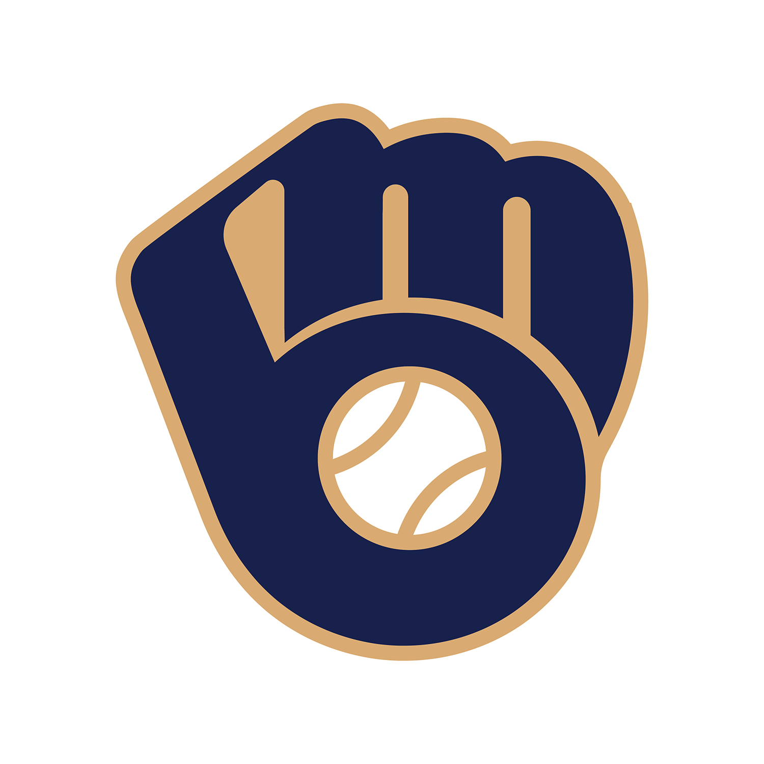 In The Old Milwaukee Brewers Logo You Can See Mb Brewer Logo Milwaukee Brewers Old Things